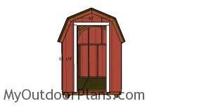 Door jambs - 6x8 shed