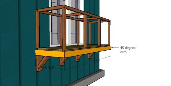Fitting the base trims - window catio