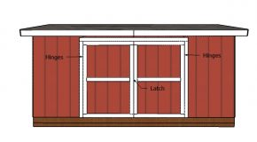 5×16 Shed Doors Plans