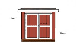 5×8 Shed Doors Plans