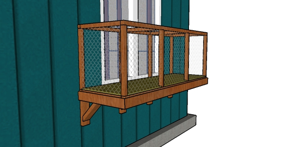 Window Catio Plans