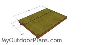 Floor sheets - 6x8 shed
