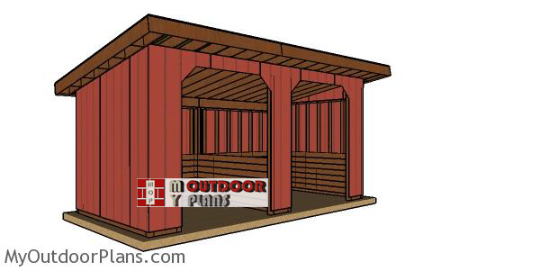 How-to-build-a-10x20-run-in-shed