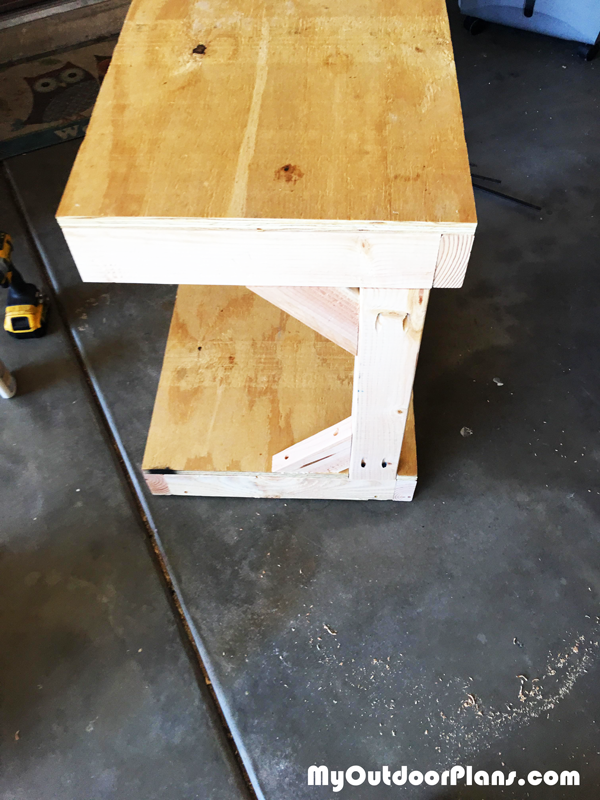 DIY Drill Press Table Stand