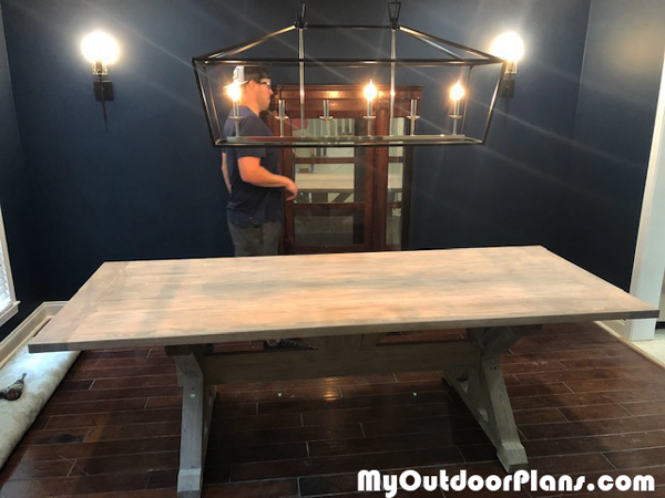 DIY 6 ft FarmhouseTable