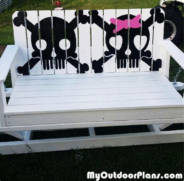 DIY Glider Swing Benches