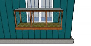 How to build a window catio