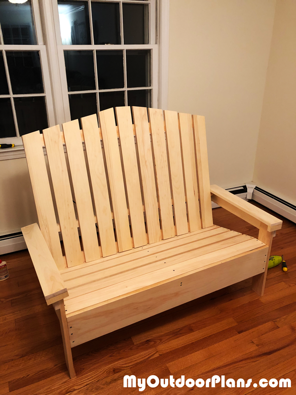 Adirondack Loveseat - DIY Project