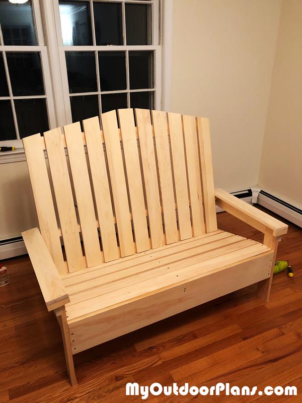 Adirondack Loveseat – DIY Project