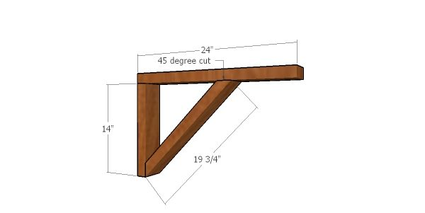 Supports for catio