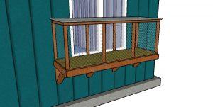 Window Catio Plans