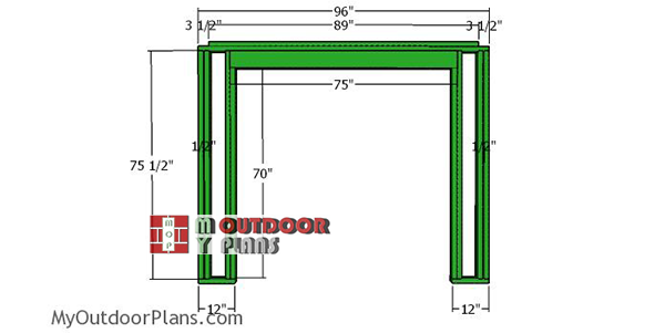 front-wall-frame-5x8-shed