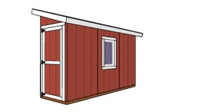 4×12 Lean to Shed Plans