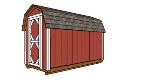 6×12 Gambrel Shed Plans