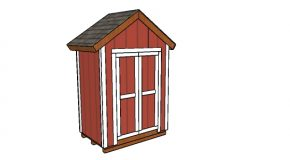 6×4 Gable Shed Plans