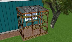 6x8 Covered Catio Plans