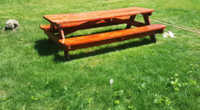 8 ft Picnic Table – DIY Project