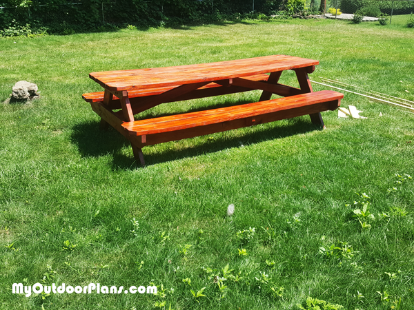 8 ft Picnic Table - DIY Project