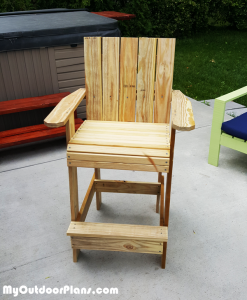 Bar-Height-Adirondack-chair---DIY-Project