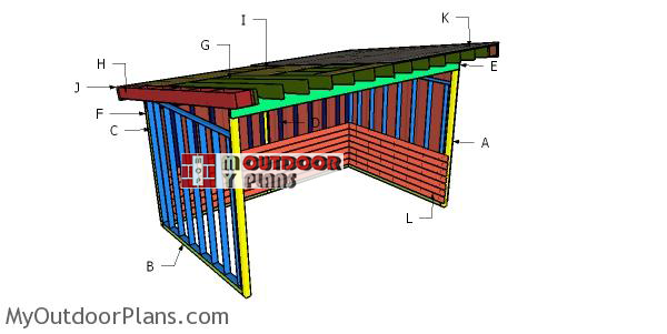Building-a-10x16-run-in-shed