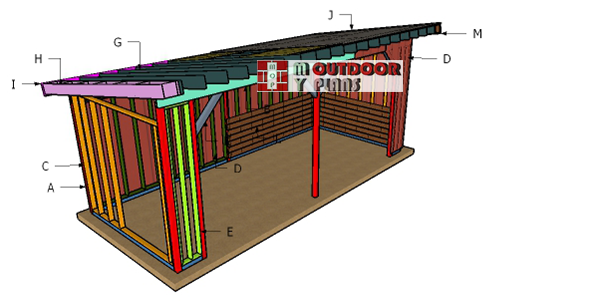 Building-a-10x24-run-in-shed