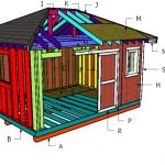 Building a 12x16 shed with hip roof