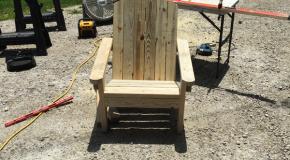 2×4 Adirondack Chair – DIY Project