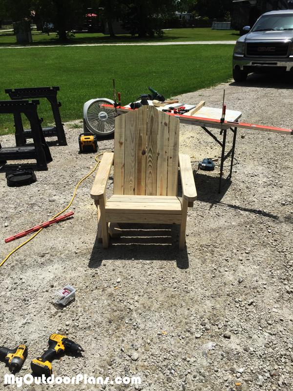 2x4 Adirondack Chair - DIY Project