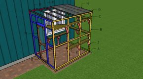6×8 Catio Roof and Shelves Plans