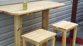 Bar Stool – DIY Project