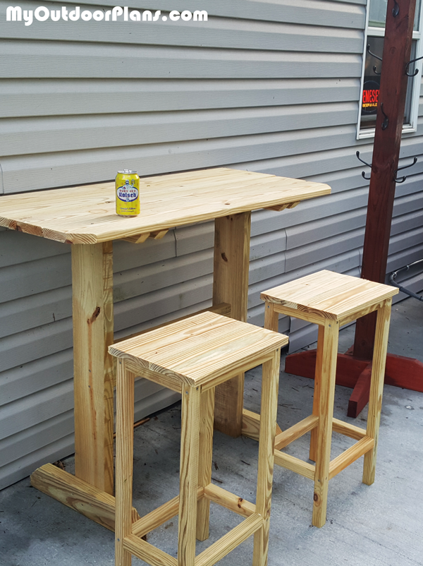 Bar Stool - DIY Project