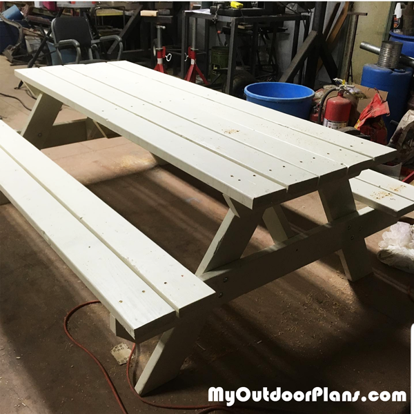 6 ft Picnic Table - DIY Project