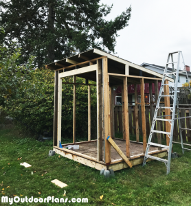 DIY-8x8-Lean-to-Shed