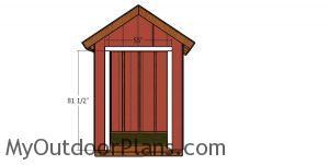Door Jambs - 6x4 shed