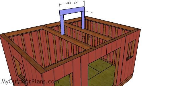 12x16 Hip Roof Shed Plans | MyOutdoorPlans | Free
