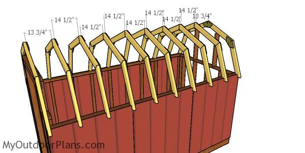 6x12 Gambrel Shed Roof Plans