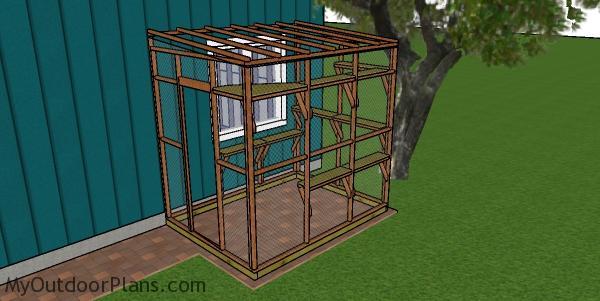 6x8 Catio Plans