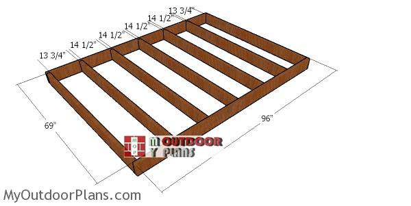 Floor-frame-for-6x8-gambrel-shed
