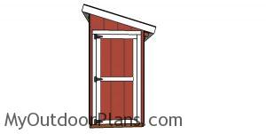 Free 4x12 Lean to Shed Plans