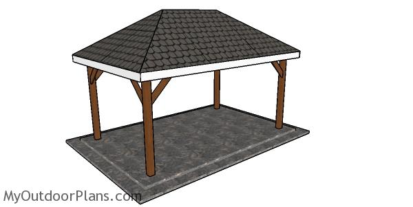Simple 10x16 Rectangular Gazebo Plans