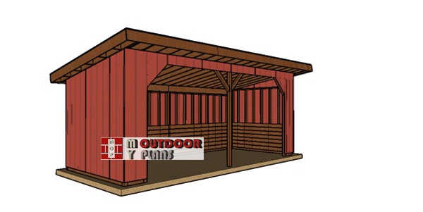 How-to-build-a-10x24-run-in-shed-plans