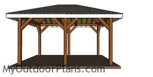 How to build a 12x16 pavilion