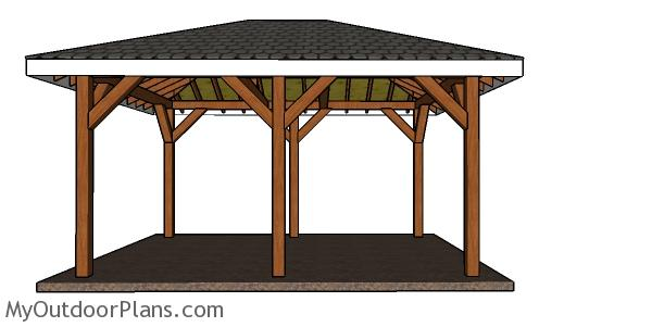 How to build a 12x16 pavilion