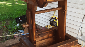 Wishing Well Planter – DIY Project
