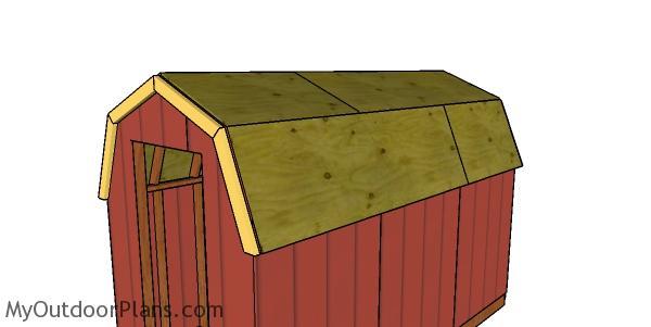 Overhangs - barn shed