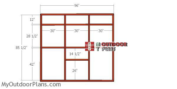 Side-wall-frame-catio