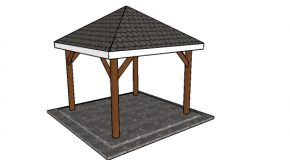 Simple 10×10 Gazebo – DIY Step by Step Plans