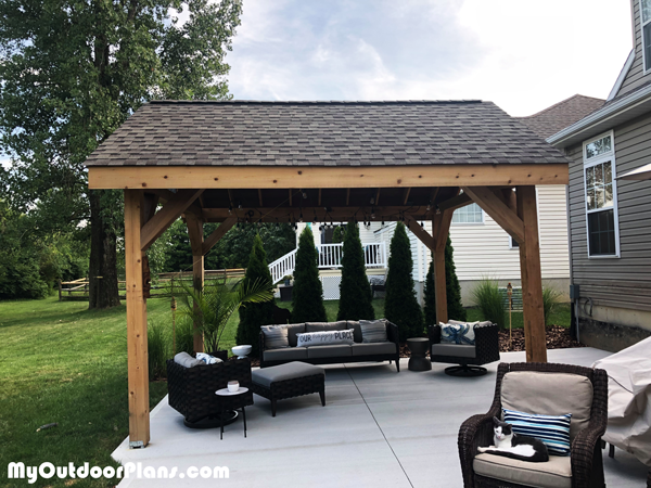 12x14 Pavilion - DIY Project
