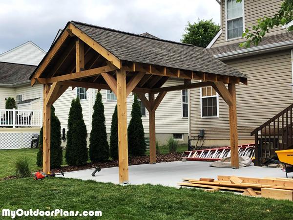 12x14-Wooden-Pavilion