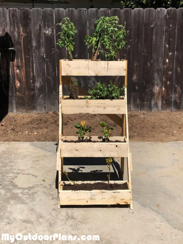 3 Tier Planter - DIY Project
